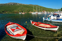 Aegean Harbour Royalty Free Stock Images