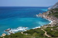 Aegean hav Royaltyfri Fotografi