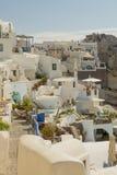 Aegean island santorini Stock Images