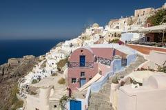 Aegean island Santorini Royalty Free Stock Images