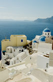 Aegean island Santorini Stock Photo