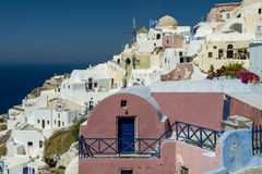 Aegean island Santorini Stock Photos