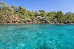 Aegean kust Arkivfoto