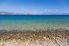 Aegean kust Fotografering för Bildbyråer