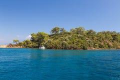 Aegean kust Royaltyfri Fotografi