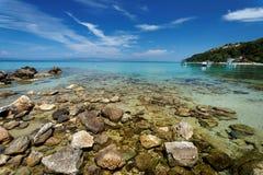 Aegean landscape Stock Photography