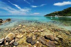 Aegean landscape Stock Image