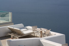 Aegean lounge Royalty Free Stock Images