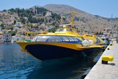 Aegean Prince II, Symi Royalty Free Stock Image