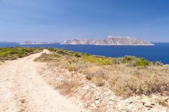 Aegean in Samos Stock Photo