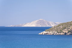 Aegean in Samos. In Greece Stock Photography