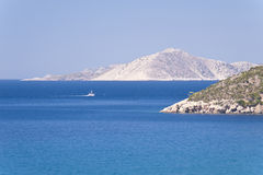 Aegean in Samos Stock Image