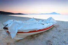 Aegean Sea. Sea landscape at the Aegean Sea, Greece stock photos