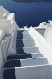 Aegean sea. Foot step to towards aegean Royalty Free Stock Photo