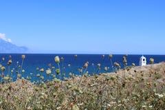 Aegean Sea. The beautiful Aegean Sea, Greece Royalty Free Stock Photo