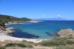 Aegean Sea. The beautiful Aegean Sea, Greece Royalty Free Stock Photography