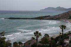 Aegean Sea. Beautiful seaside and sea view on Aegean Sea Royalty Free Stock Photo