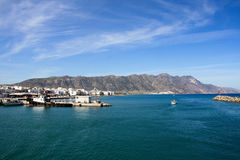 Aegean Sea. Beautiful seaside and sea view on Aegean Sea Royalty Free Stock Image