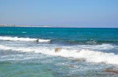 Aegean Sea and blue sky. Stock Photography