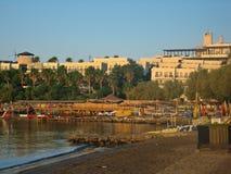 Aegean Sea in Bodrum city Stock Photos
