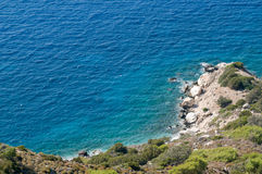 Aegean sea coast Stock Images