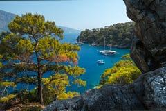 Aegean Sea coast Stock Image