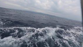 AEGEAN SEA, GREECE -  Clip-set: Sailors participate in sailing regatta among Greek island group stock video