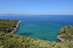 Aegean sea landscape Royalty Free Stock Photos