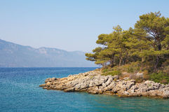 Aegean sea landscape Royalty Free Stock Photo