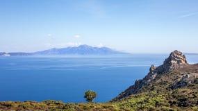 Aegean Sea landscape Stock Image