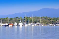 Aegean sea marina Royalty Free Stock Images