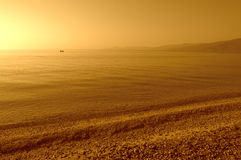 Aegean sea morning serenity Stock Photography