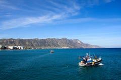 Aegean Sea pier Stock Photos