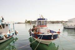 Aegean Sea pier Stock Images
