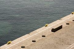 Aegean Sea pier Stock Photo