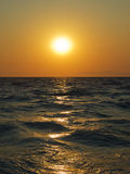 Aegean sea sunset Royalty Free Stock Photo