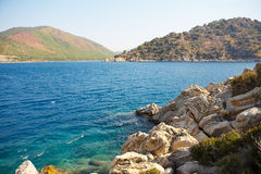 Aegean sea. Turkey. Marmaris Stock Images