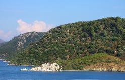 Aegean  sea . Turkey. Marmaris city Stock Image