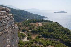 Aegean sea view Stock Photo