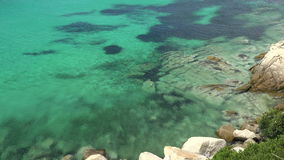 Aegean Sea water surface texture. stock footage