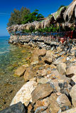 Aegean terrace Royalty Free Stock Photos