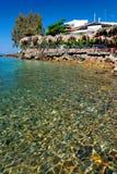 Aegean terrace. At Marmaris, Greece Stock Photos