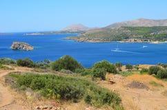 Aegeon-Strand Bay-1 Lizenzfreie Stockfotos