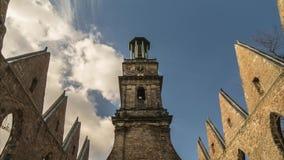 Aegidien教会在汉诺威,德国 时间间隔 股票视频