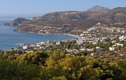 Aegina海岛在希腊 免版税库存照片