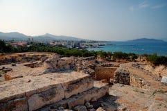 aegina海岛 免版税库存照片