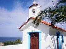 Aegina, de kapel van Griekenland royalty-vrije stock fotografie