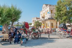 Aegina, Grecia Imagenes de archivo