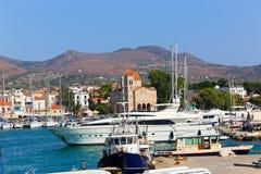 Aegina, Grecia Foto de archivo libre de regalías