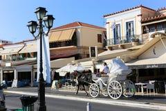 Aegina , Greece Royalty Free Stock Photo